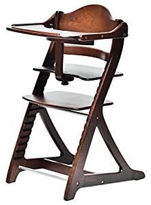 大和屋 すくすくチェアスリムプラス テーブル付 ダークブラウンDB 7503 機能や使いやすさはそのままに、幅をすっきりコンパクトにしたベビーチェア[un]