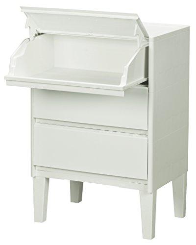 JEJ 収納ケース・ボックス ホワイト 55.5×40×82.1cm モストロ 1020726[un]