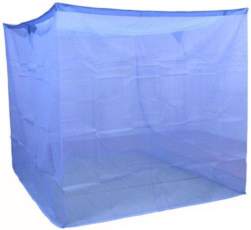 蚊帳 片麻 アサギ 190cm 4.5畳 ブルー 国産 12572