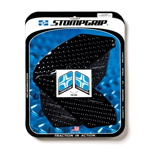 STOMPGRIP(ストンプグリップ) トラクションパッド タンクキット VOLCANO ブラック YZF-R1(09-12) 55-1007B