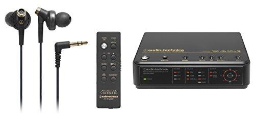 audio-technica デジタルワイヤレスヘッドホンシステム カナル型イヤホン付属 ATH-DWL3300