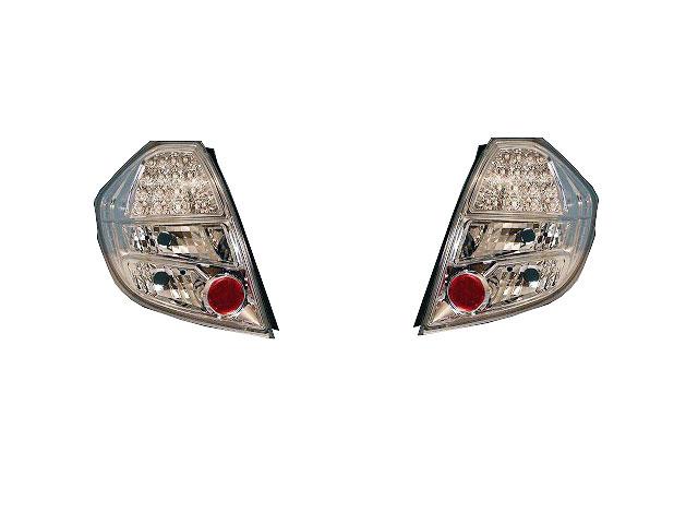 [COLIN]GE6/GE7/GE8/GE9 フィット 前期(クローム)用LEDテールランプ