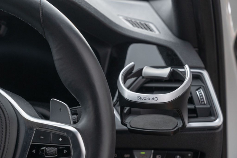 Studie AGのNEWロゴで登場 [Studie]BMW Xシリーズ_F97_X3M用スタディAGカップホルダー(2個入り)[ドリンクホルダー]