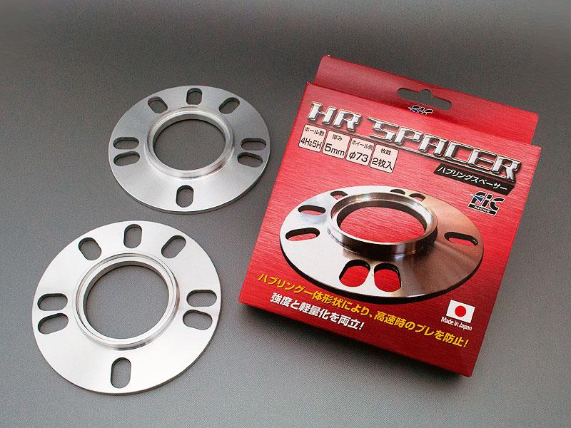 贈与 日本製FICハブ一体型5mmホイールスペーサー FIC ハブ一体型ホイールスペーサー66φ×4枚 車両側66φ-ホイール側73φ 低価格 5mm