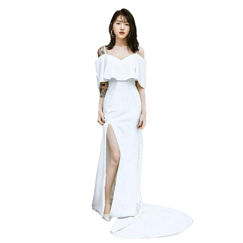 ウェディングドレス 花嫁 吊りスカート 二次会 前撮り ドレス 海外挙式 シンプル パーティードレス 編み上げ 挙式 レディース 結婚式 ブライダル wedding dress フォーマルドレス 成人式 リゾート ロングドレス セミオーダー0N8vnmw