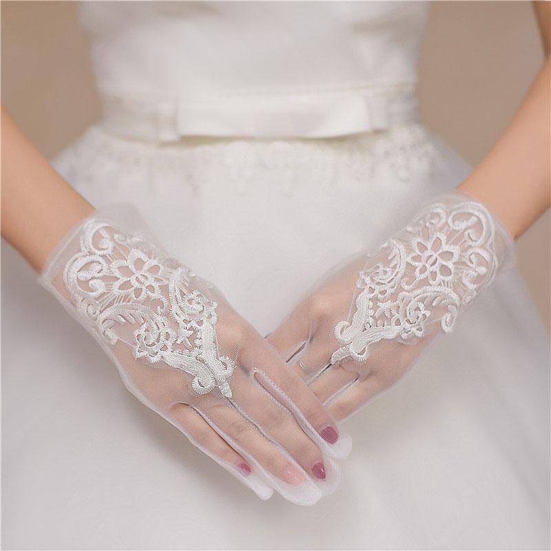 ウエディング グローブ 驚きの価格が実現 花嫁 小物 結婚式 ブライダル glove 至高 花嫁手袋 二次会 レディース 手袋 weddings 撮影道具 可愛い 上品 優雅 パーティー手袋 透け感 ウェディング ショート 挙式