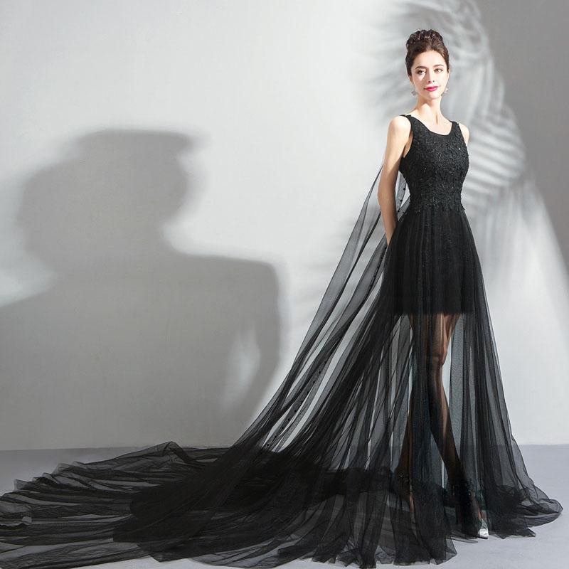 花嫁 パーティードレス ロングトレーン aラインドレス ロングドレス ...