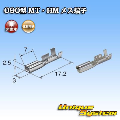 住友電装 090型 MT・HM用 メス端子 10本セット