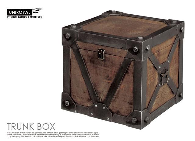 アンティーク風ウッドボックスS/北欧レトロシャビーシンプルアンティークカフェインダストリアル家具什器アンティークジャンクビンテージテーブル