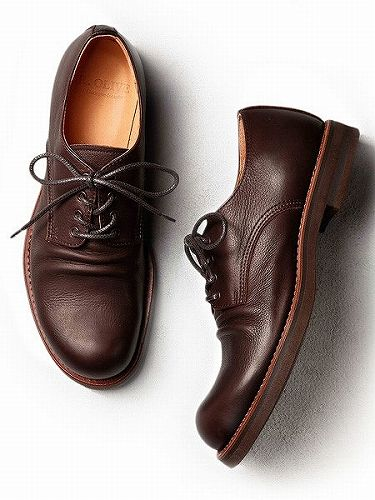 【MR.OLIVEミスターオリーブ】WATER PROOF SHIRINK LEATHER / POSTMAN BOOTS ME523(3色)(ウォータープルーフシュリンクレザー / ポストマンブーツ/SHOES/靴/E.O.I)