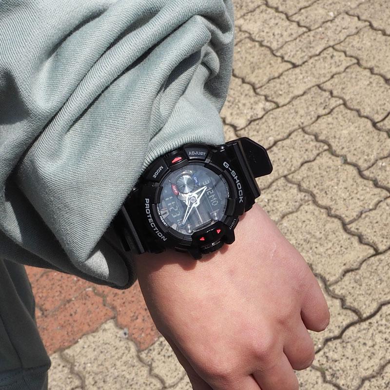 CASIO カシオ G-SHOCK ジーショック G'MIX ジーミックス 腕時計 GBA-400-1AJF GBA-400-1A9JF レディース アナデジ 防水 耐衝撃 ワールドタイム LED アラーム タイマー カジュアル お洒落 多機能 モバイルリンク Bluetooth