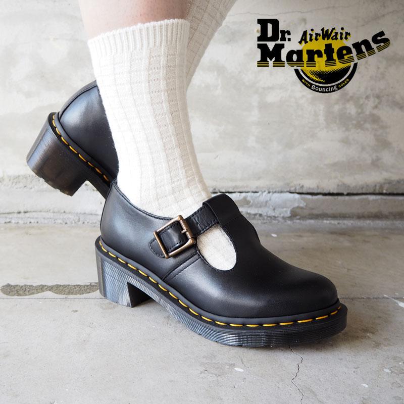 Dr.Martens ドクターマーチン シューズ レディース SOPHIA 25657001 靴 ヒール 春 シンプル ガーリー おしゃれ モード マーチン ブランド レザー 革 ブラック 黒