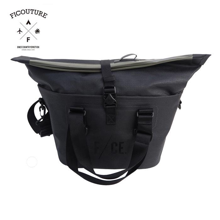FICOUTURE フィクチュール NO SEAM TOOL BAG DR0004 バッグ レディース ショルダー ショルダーバッグ 鞄 ツールバッグ トート 防水 カメラバッグ 旅行 カジュアル お洒落 30L 斜め掛け a4 アウトドア 黒