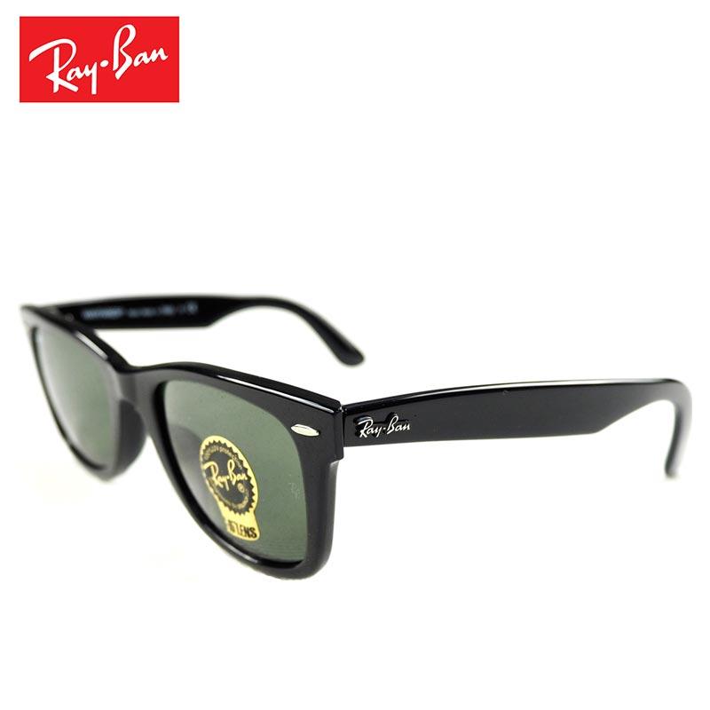 Ray-Ban レイバン サングラス RB2140F レディース グラサン 偏光 偏光レンズ ウェイファーラー フルフィット 901/52サイズ 黒 ブラック アイウェア 眼鏡 メンズ