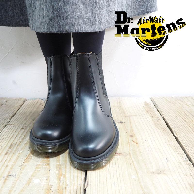 Dr.Martens ドクターマーチン ブーツ レディース CHELSEA BOOT 10297001 チェルシーブーツ サイドゴアブーツ サイドゴア 秋冬 靴 マーチン おしゃれ シンプル モード ブランド 黒 ブラック