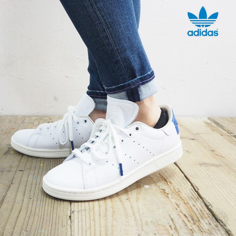 adidas アディダス スニーカー レディースSTAN SMITH EE5788 シューズ スタンスミス 靴 くつ 白 ホワイト カジュアル シンプル おしゃれ ローカット 大人