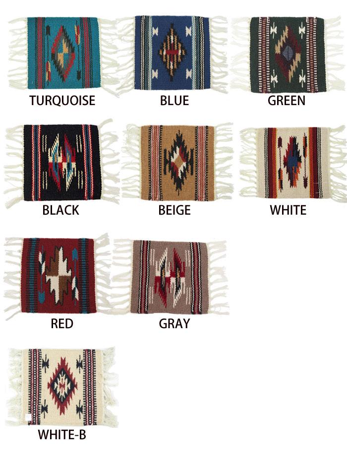 El Paso SADDLEBLANKET. Co El Paso Saddle Blanket WOOL MAT S ELP007 Rag Mat  Rug