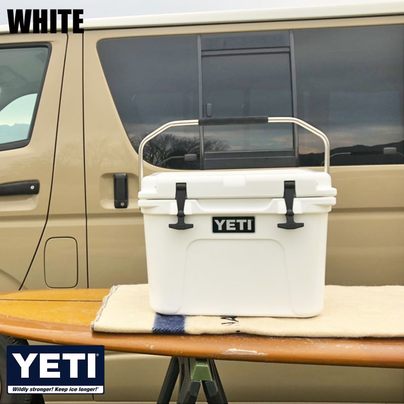 YETI イエティ クーラーボックス ROADIE20 ローディー20 20 クーラーBOX クーラーバッグ 保冷バッグ 19.6L 20L 大型 大容量 保冷 椅子 アウトドア キャンプ バーベキュー 釣り フィッシング レジャー 白 ホワイト ベージュ