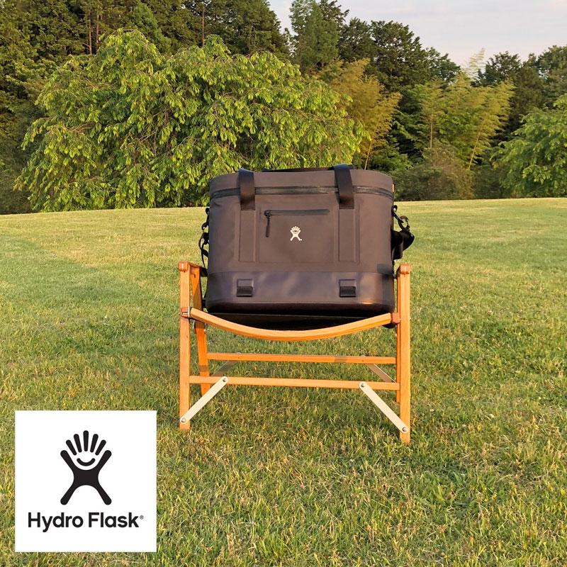 Hydro Flask ハイドロフラスク クーラーボックス SOFT COOLER TOTE 24L クーラーバッグ 5089613 ソフトクーラー バッグ ソフト クーラー トート ショルダー アウトドア ソフトタイプ ナイロン 保冷 防水 防カビ 黒 ブラック black ハイドロ BAG シンプル