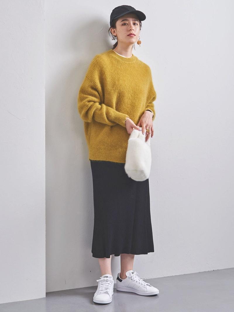 [Rakuten Fashion]【SALE/50%OFF】UWSCリブスリットフレアスカート UNITED ARROWS ユナイテッドアローズ スカート ロングスカート ブラック カーキ【RBA_E】【送料無料】