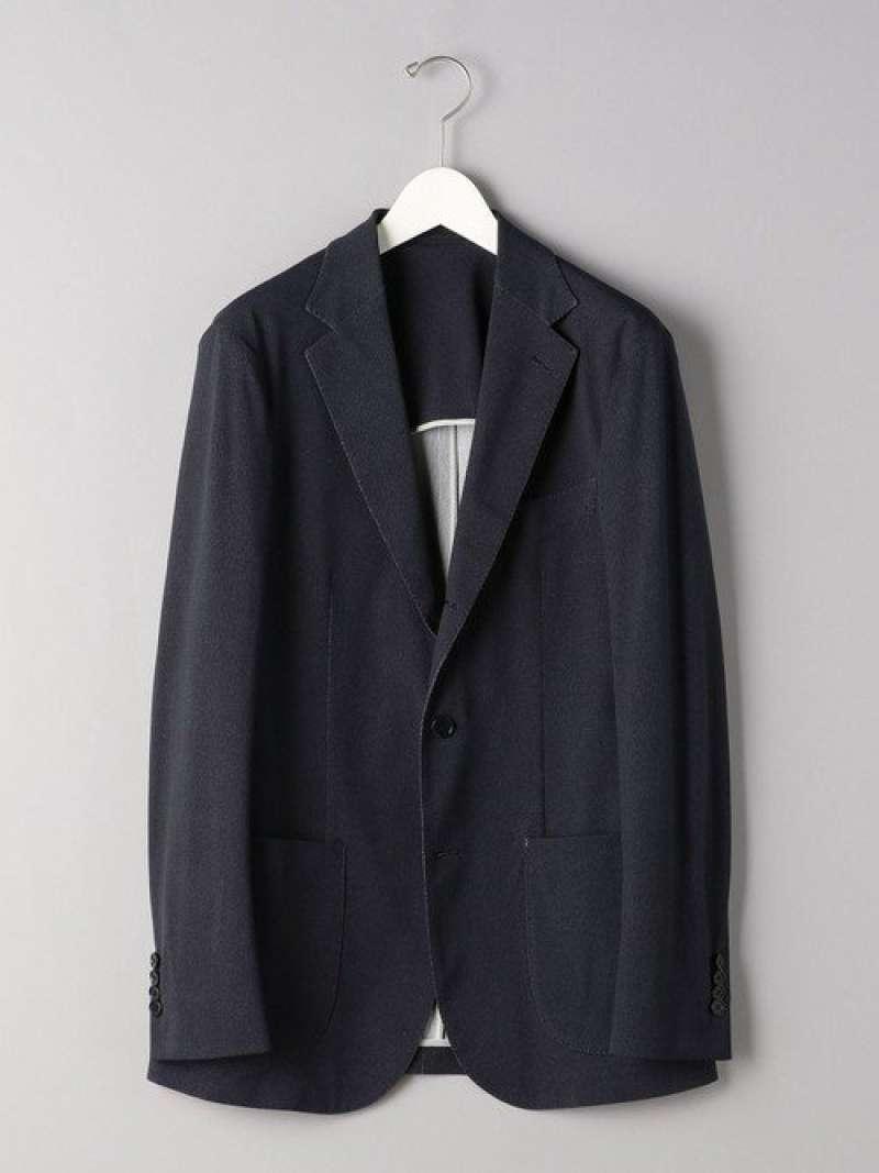 [Rakuten Fashion]<SOVEREIGN(ソブリン)>カルゼプリント3Bソフトジャケット UNITED ARROWS ユナイテッドアローズ コート/ジャケット テーラードジャケット ネイビー【送料無料】