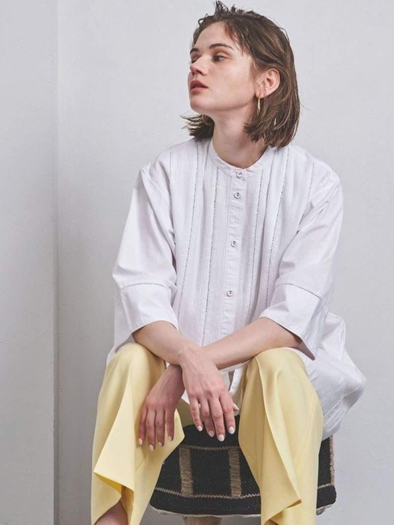 [Rakuten Fashion]【SALE/40%OFF】<Pheeta(フィータ)>TRINITYミドルワンピース UNITED ARROWS ユナイテッドアローズ ワンピース シャツワンピース ホワイト ネイビー【RBA_E】【送料無料】