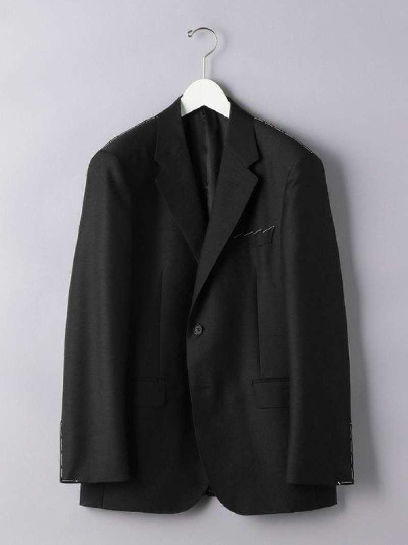 [Rakuten Fashion]<District(ディストリクト)> ウールモヘヤ ツイル 2B ジャケット UNITED ARROWS ユナイテッドアローズ コート/ジャケット テーラードジャケット グレー【送料無料】