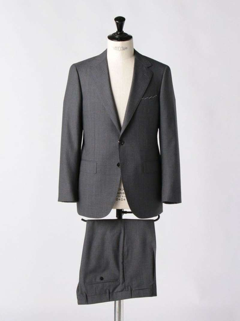 [Rakuten Fashion]<SOVEREIGN(ソブリン)>BREEZYウインドウペイン2B UNITED ARROWS ユナイテッドアローズ ビジネス/フォーマル スーツ グレー【送料無料】