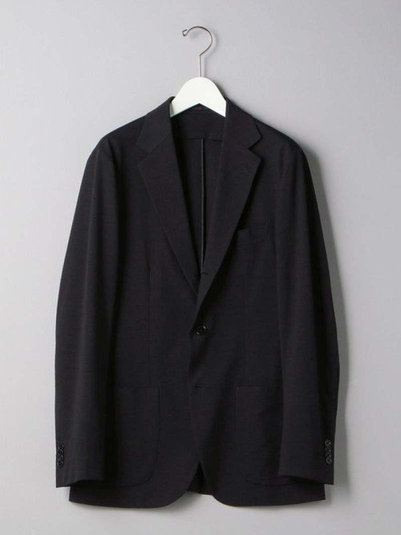 [Rakuten Fashion]<SOVEREIGN(ソブリン)>ジャージーシアサッカー3Bジャケット UNITED ARROWS ユナイテッドアローズ コート/ジャケット テーラードジャケット ネイビー ブラック【送料無料】