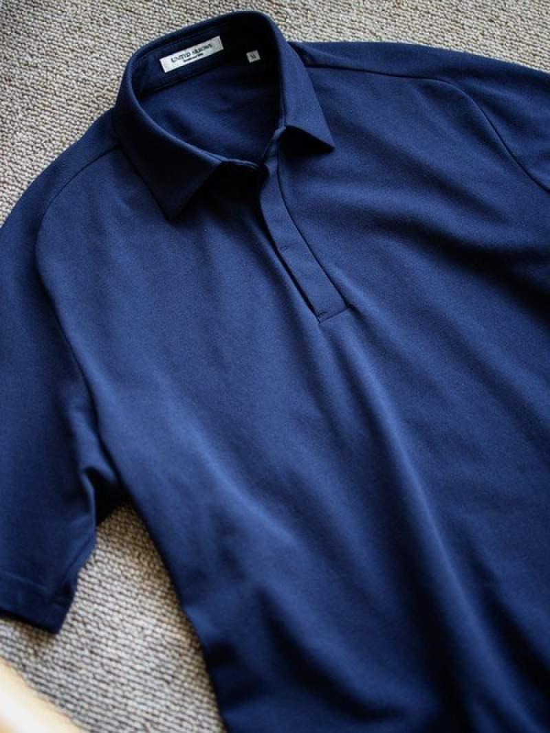 [Rakuten Fashion]<UNITEDARROWS>カノコフロントフライポロシャツ UNITED ARROWS ユナイテッドアローズ カットソー ポロシャツ ネイビー ホワイト ブラック【送料無料】