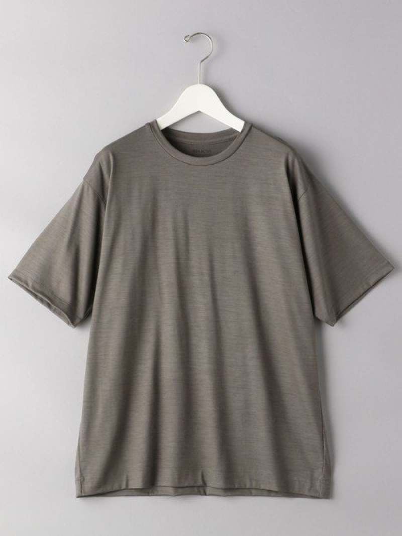 [Rakuten Fashion]<SOVEREIGN(ソブリン)>REDAアクティブウールTシャツ UNITED ARROWS ユナイテッドアローズ カットソー Tシャツ グレー ブラック ネイビー【送料無料】