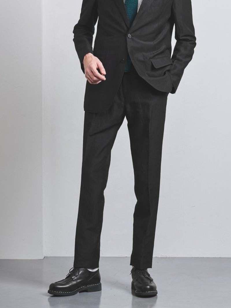 [Rakuten Fashion]<District(ディストリクト)>LVP1プリーツパンツ UNITED ARROWS ユナイテッドアローズ パンツ/ジーンズ パンツその他 ブラック【送料無料】