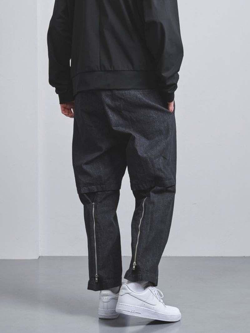 [Rakuten Fashion]【SALE/40%OFF】<ENROUTE(アンルート)>コットンデニムライクボンデージイージーパンツ EN ROUTE ユナイテッドアローズ パンツ/ジーンズ フルレングス ネイビー ブラック【RBA_E】【送料無料】