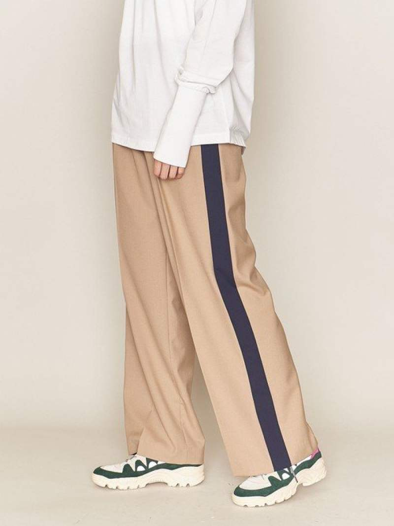 [Rakuten Fashion]<ASTRAET(アストラット)>ソクショウワイドパンツ† ASTRAET ユナイテッドアローズ パンツ/ジーンズ フルレングス ベージュ ブラック グレー【送料無料】