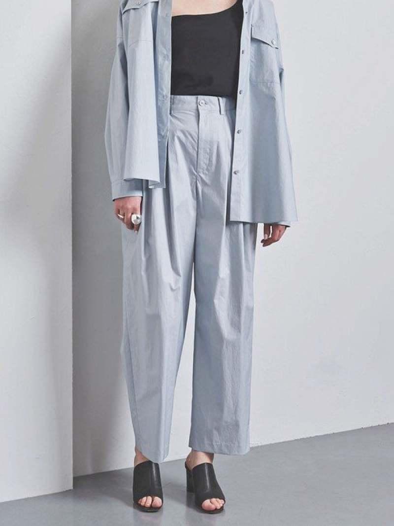 [Rakuten Fashion]【SALE/40%OFF】UGCBツイル3タックパンツ UNITED ARROWS ユナイテッドアローズ パンツ/ジーンズ フルレングス ブルー ネイビー【RBA_E】【送料無料】