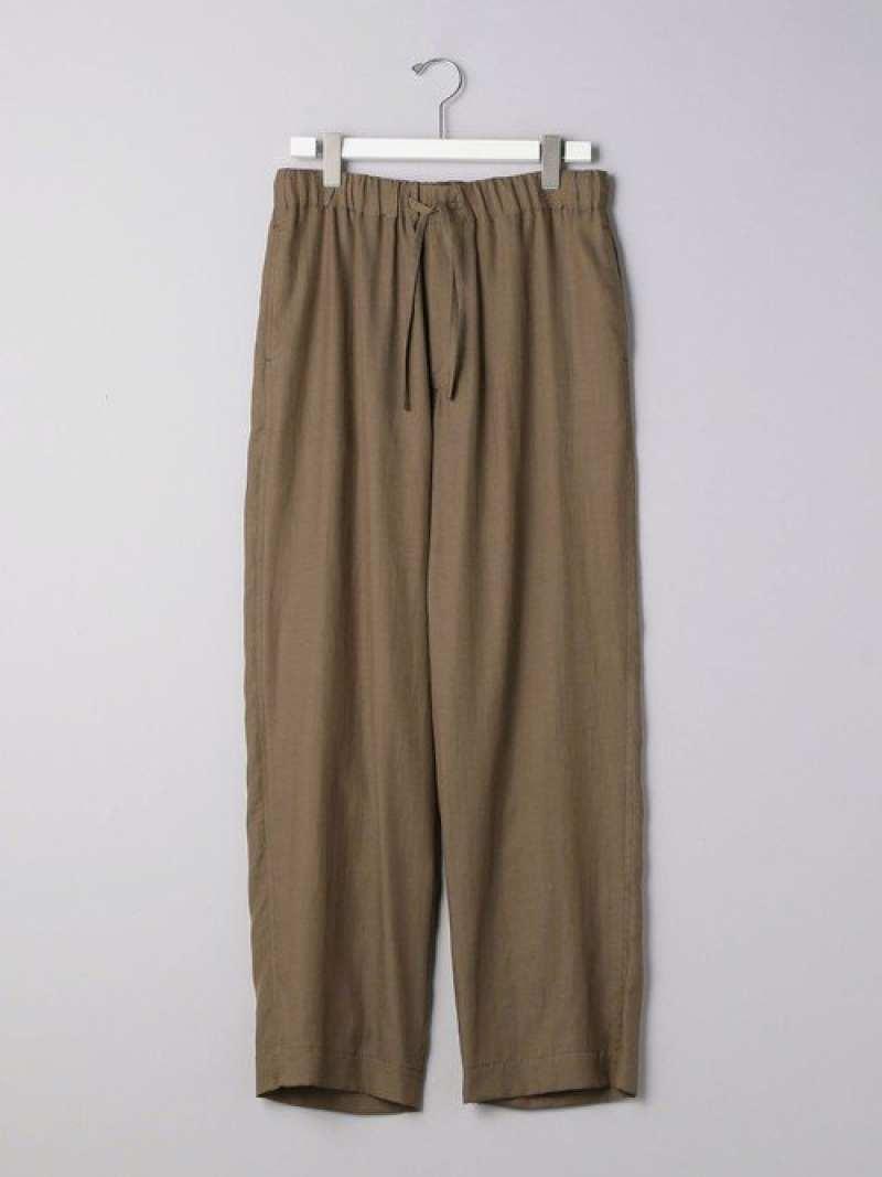 [Rakuten Fashion]<NUMBERM(ナンバーエム)>パジャマパンツ UNITED ARROWS ユナイテッドアローズ パンツ/ジーンズ フルレングス ブラウン ネイビー【送料無料】