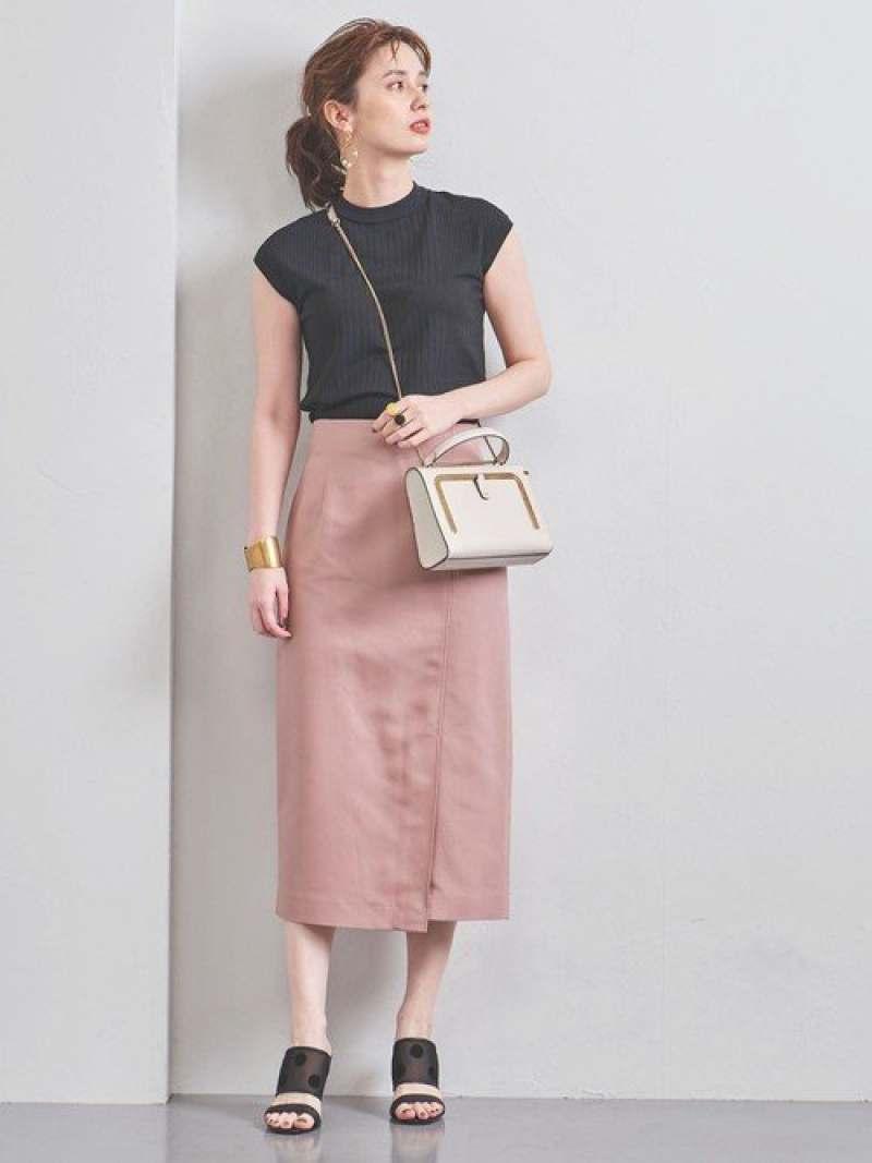 [Rakuten Fashion]UBCBコットンサイドベントタイトスカート UNITED ARROWS ユナイテッドアローズ スカート タイトスカート ピンク ベージュ カーキ【送料無料】