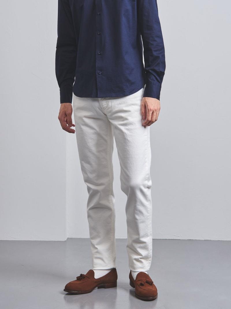 [Rakuten BRAND AVENUE]<SIVIGLIA(シビリア)>ホワイト 5ポケット パンツ UNITED ARROWS ユナイテッドアローズ パンツ/ジーンズ【送料無料】
