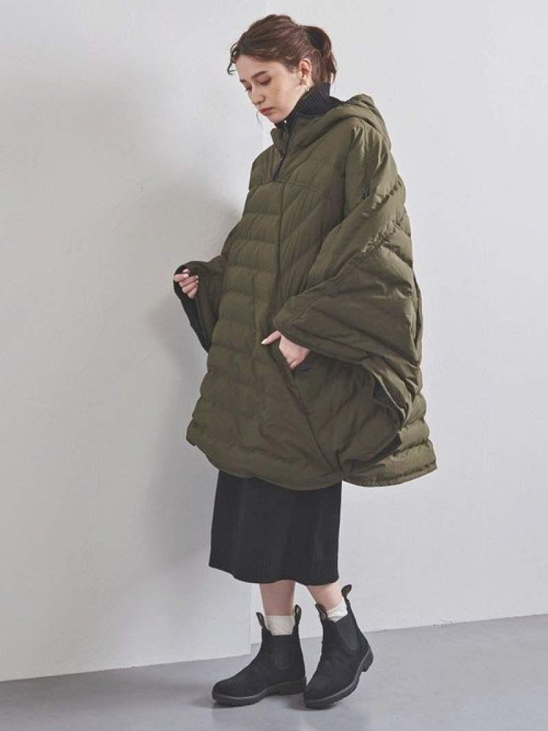 [Rakuten Fashion]【SALE/40%OFF】<P.H.DESIGNS>ダウンポンチョ UNITED ARROWS ユナイテッドアローズ コート/ジャケット ダウンジャケット カーキ ブラック【RBA_E】【送料無料】