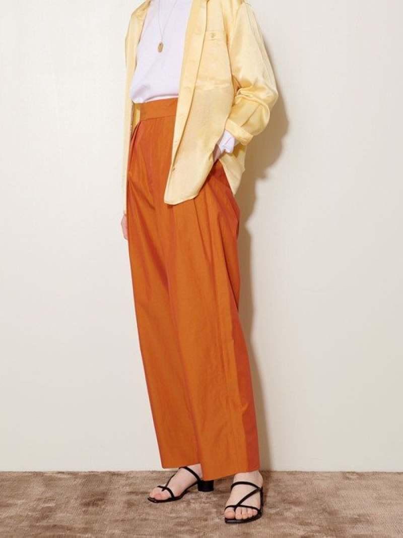 [Rakuten Fashion]【SALE/50%OFF】<AEWENMATOPH(イウエンマトフ)>カラータックパンツ AEWEN MATOPH ユナイテッドアローズ パンツ/ジーンズ フルレングス オレンジ ブルー【RBA_E】【送料無料】