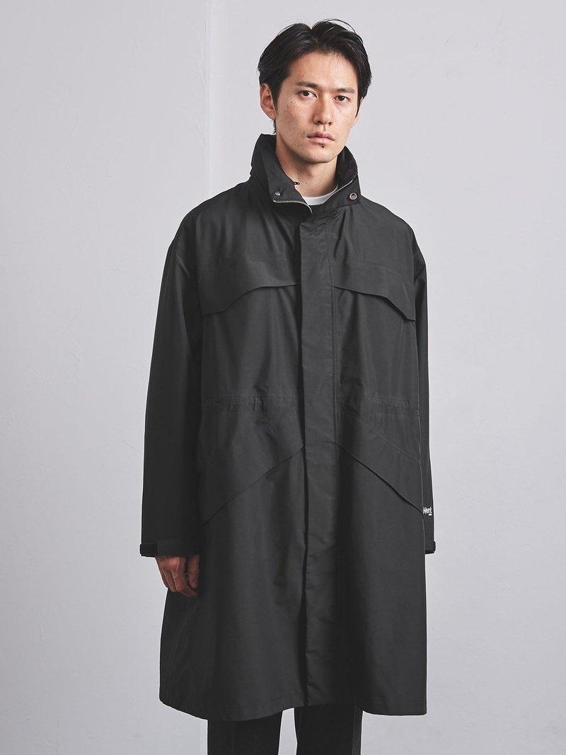 UNITED ARROWS メンズ コート ジャケット ユナイテッドアローズ SALE 66%OFF eVent おすすめ フーデッドコート Rakuten Fashion RBA_E ジャケットその他 送料無料 ブラック オープニング 大放出セール