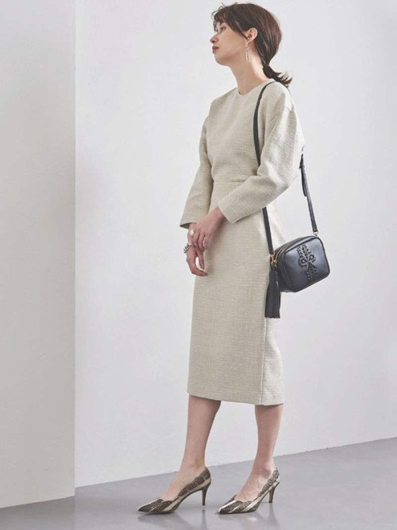[Rakuten Fashion]【SALE/30%OFF】UBCSブライトツイードタイトスカート UNITED ARROWS ユナイテッドアローズ スカート ロングスカート ブルー【RBA_E】【送料無料】