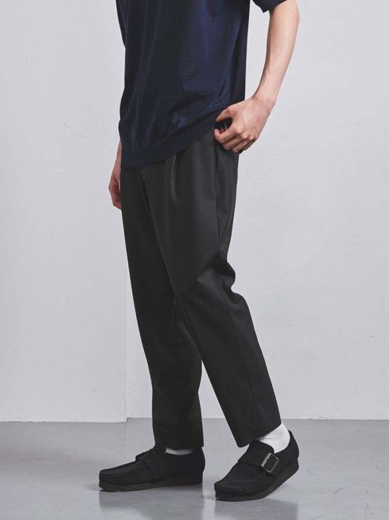 [Rakuten Fashion]【SALE/30%OFF】<UNITEDARROWS>WO/PUTRO1プリーツテーパードパンツ UNITED ARROWS ユナイテッドアローズ パンツ/ジーンズ フルレングス ブラック【RBA_E】【送料無料】