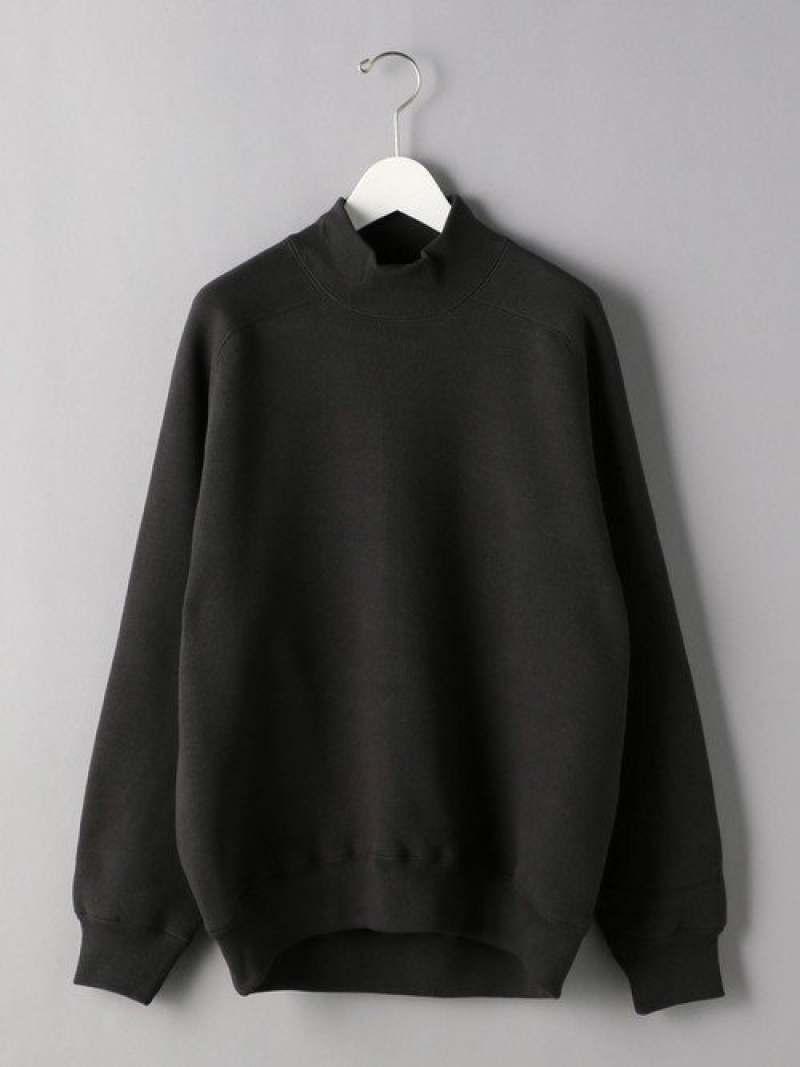 [Rakuten Fashion]<K ITO(ケー・イトウ)> ウラケ モックネック スウェット UNITED ARROWS ユナイテッドアローズ カットソー Tシャツ グレー【送料無料】