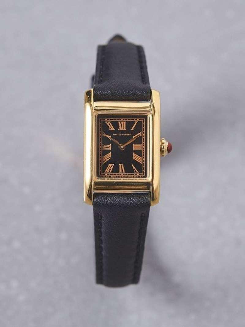 [Rakuten Fashion]UBBTスクエアレザーベルト腕時計2† UNITED ARROWS ユナイテッドアローズ ファッショングッズ 腕時計 イエロー【送料無料】