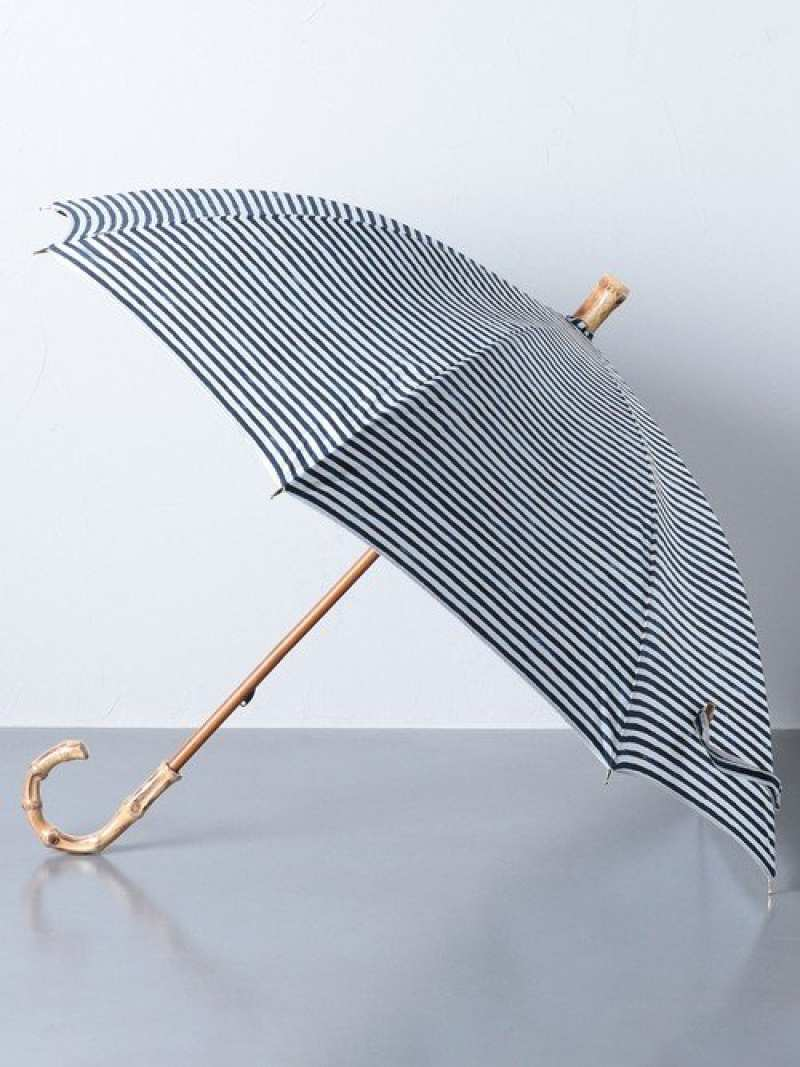 [Rakuten Fashion]UBSCBORSHORT晴雨兼用傘 UNITED ARROWS ユナイテッドアローズ ファッショングッズ 長傘 ネイビー ブラック ベージュ【送料無料】