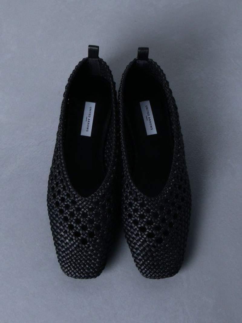 [Rakuten Fashion]UWMSCメッシュパンプス UNITED ARROWS ユナイテッドアローズ シューズ パンプス ブラック ホワイト【送料無料】