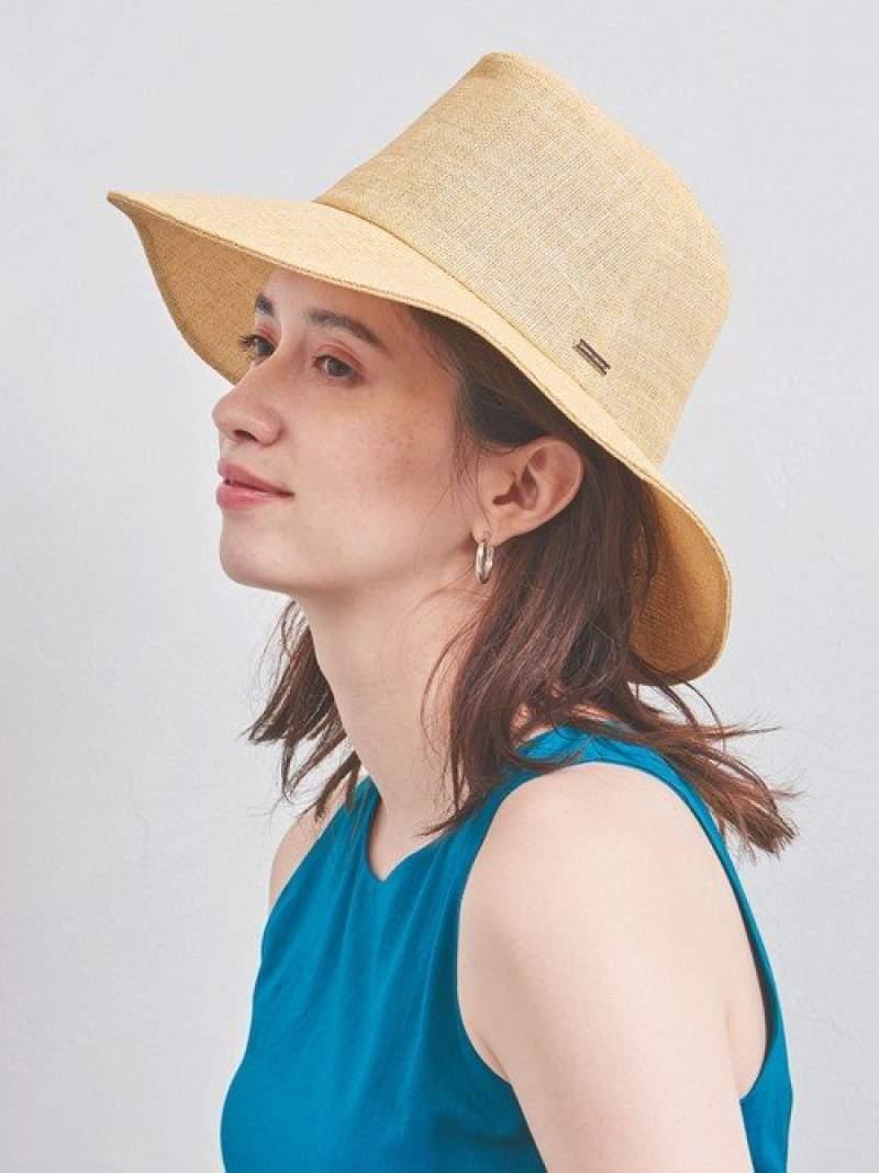 [Rakuten Fashion]UWFMPAPERMANISHUVハット UNITED ARROWS ユナイテッドアローズ 帽子/ヘア小物 ハット ホワイト ベージュ【送料無料】
