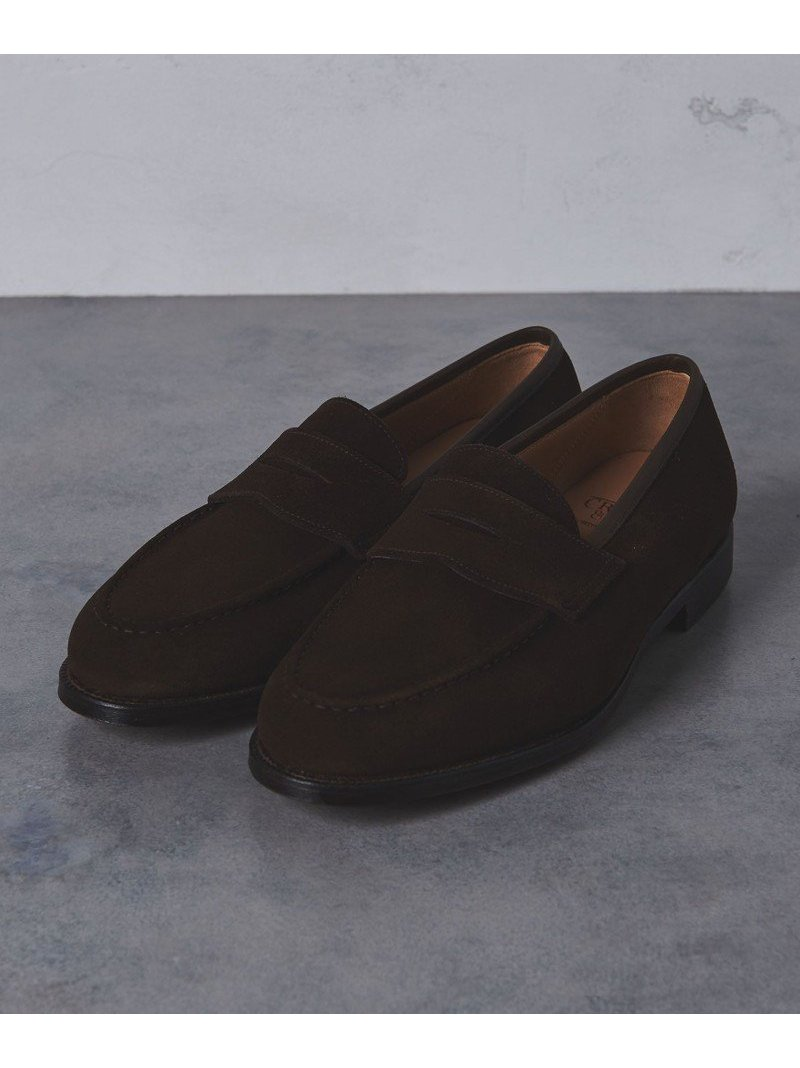 [Rakuten BRAND AVENUE]<CROCKETT&JONES(クロケット&ジョーンズ)> BOSTON2 SUEDE LOAFE UNITED ARROWS ユナイテッドアローズ シューズ【送料無料】