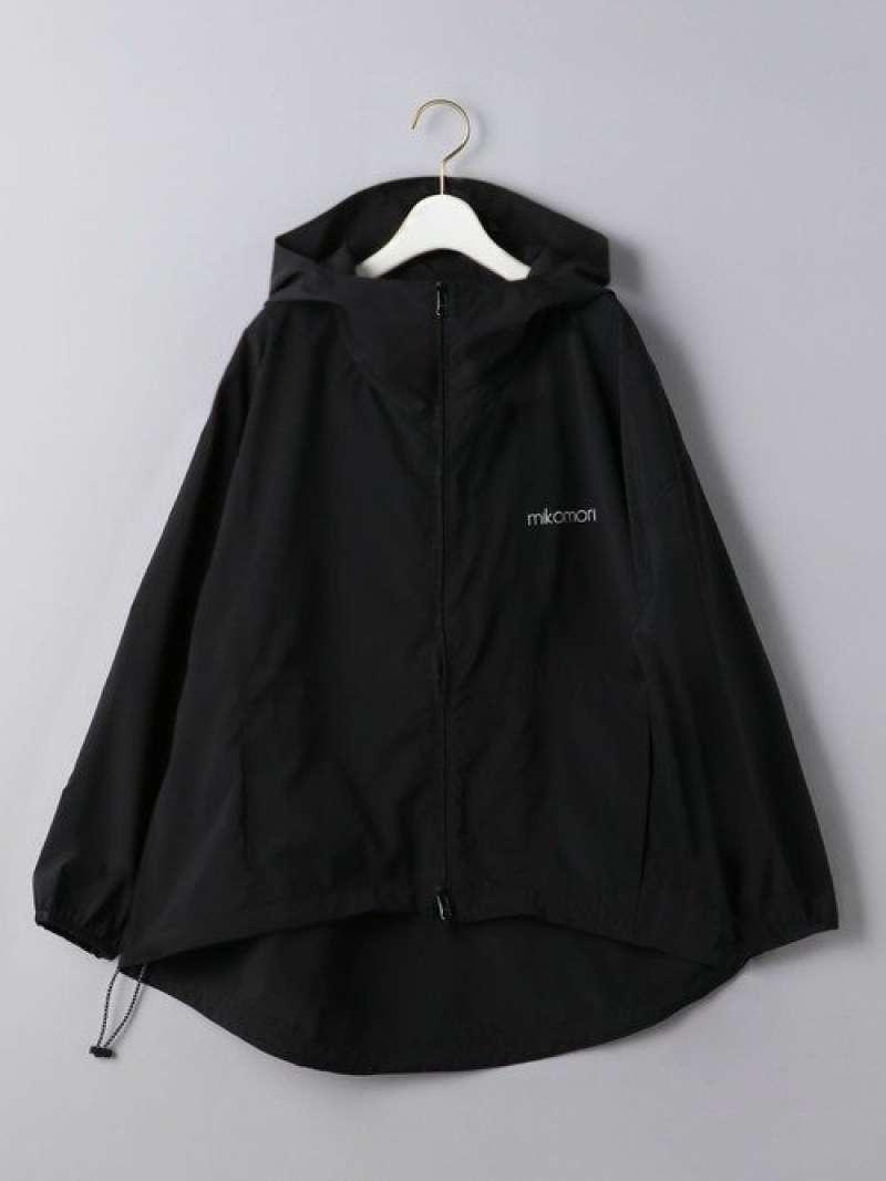 [Rakuten Fashion]<mikomori(ミコモリ)>DROPパーカー UNITED ARROWS ユナイテッドアローズ スポーツ/水着 スイムグッズ ブラック【送料無料】